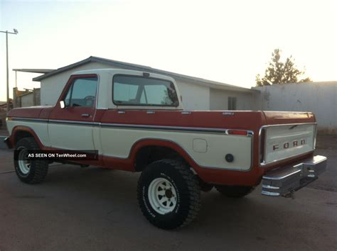 ford truck bed ford ranger f150 1978 4x4 short bed