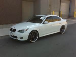 bmw 5 series on 22 inch rims 1 madwhips