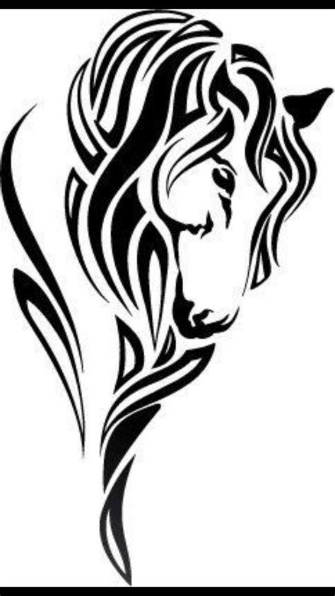 tribal horseshoe tattoo the 25 best tribal ideas on