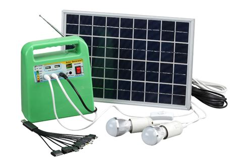 neata 10w solar power system for home portable solar power
