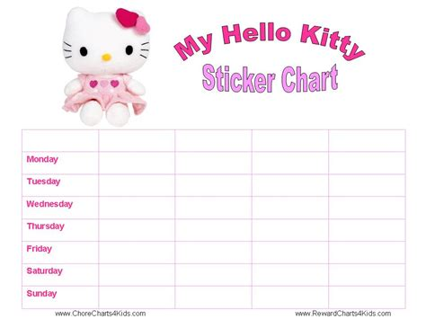 search results for free printable sticker chart templates
