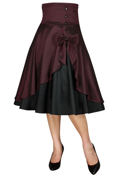 swing dance skirts rk89 rockabilly work vintage pin up formal retro swing