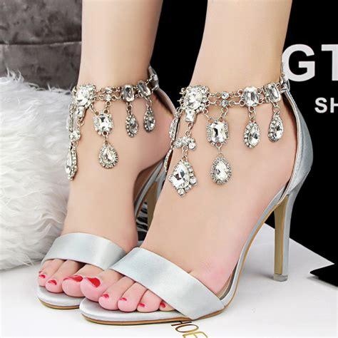 sexiest high heels shoes aliexpress buy new 2015 rhinestone high heels