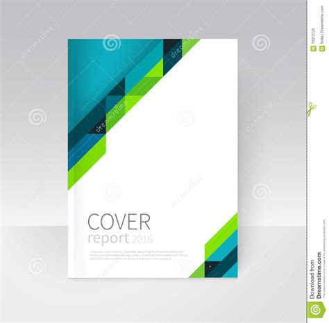 Report Cover Page Template Word Free Brochure Flyer Poster Annual Report Cover Template