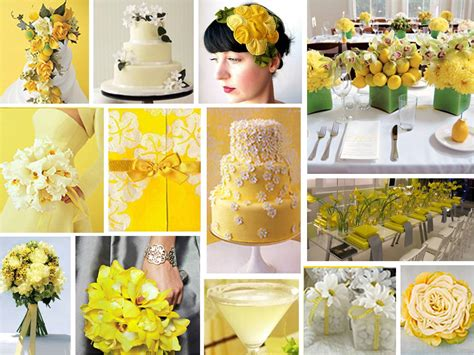 yellow wedding decorations yellow wedding centerpieces ideas pictures wedding