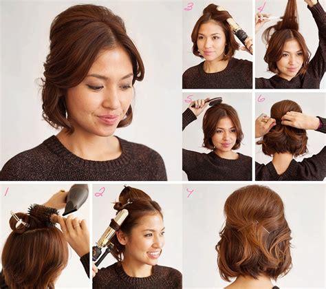 peinados cortos faciles 10 tutoriales de peinado para cabello corto