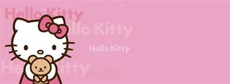 hello kitty wallpaper in facebook hello kitty pink background facebook timeline cover photo jpg