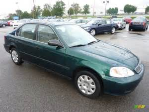 1999 Honda Civic Lx Clover Green Pearl 1999 Honda Civic Lx Sedan Exterior