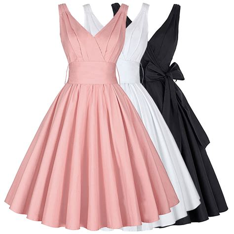 60s swing dress retro 50s wiggle flared dress vintage cocktail