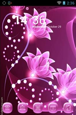 themes for android flowers go launcher android themes page 10 androidlooks com