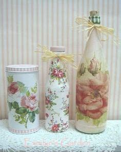 Decoupage On Plastic Containers - 1000 images about id 233 ias para artesanato on