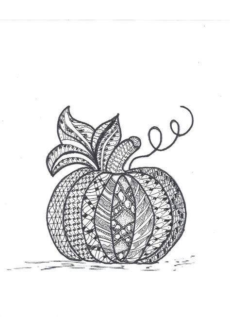 zentangle pumpkin printable 97 best images about zentangle on pinterest keith haring