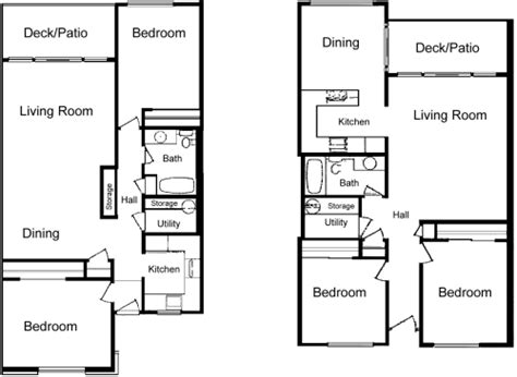 Two Story Mobile Home Floor Plans by La Villa Apartments Lynden Wa Floor Plans