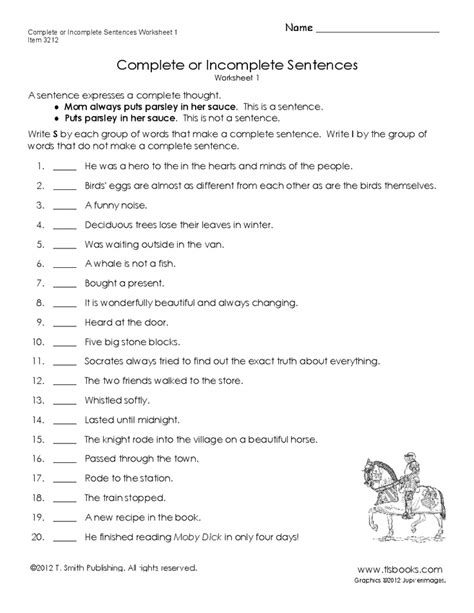 Writing Complete Sentences Worksheets by Pin By Miranda Wiygul On Ideas For My Classroom