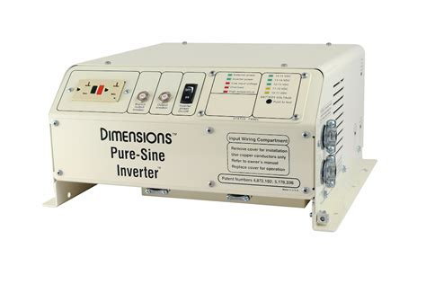 dimensions bnt  vdc pure sine inverter charger