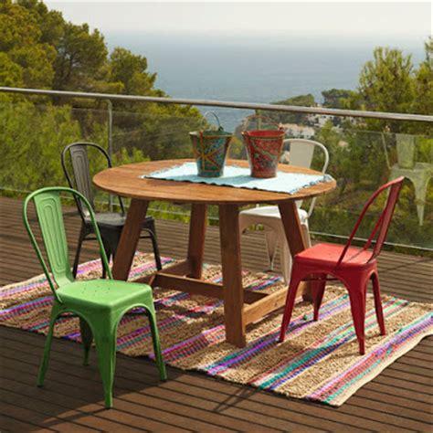 mesa jardin leroy merlin las mejores mesas y sillas para tu terraza decoshabby