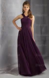 beautiful chiffon grape bridesmaid dress bnnbe0007