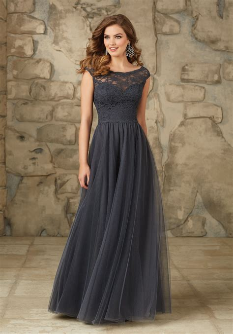 Bridesmaid Wedding Dresses by And Lace And Tulle Bridesmaid Dress Style