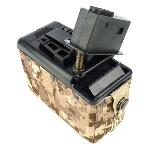 Box Magazen classic army magazine for m249 1200rd box type