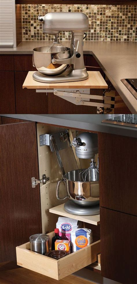 kitchen appliance storage cabinet best 20 kitchen appliance storage ideas on pinterest