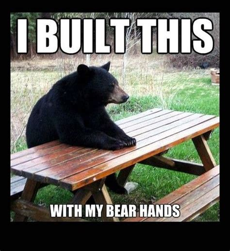 Bear At Picnic Table Meme - 52 best puns images on pinterest haha comic strips and dogs
