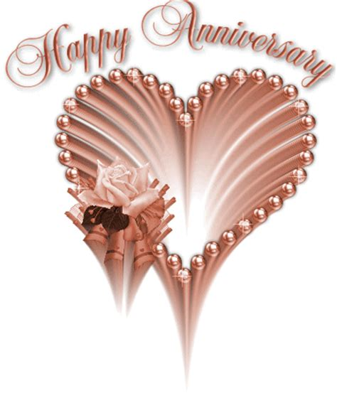 Happy Wedding Anniversary Animated Gif by Wedding Anniversary Gif Wishes 9to5animations