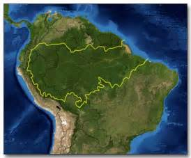 south america rainforest map brazil map of rainforest images