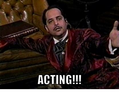 Acting Memes - master thespian tumblr