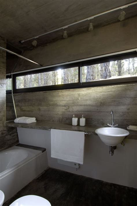 Concrete Bathrooms by Concrete Bathroom Sinks That Make A Strong Statement