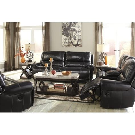 Deals On Living Room Furniture Recliners Deals Paron Leather Reclining Sofa Set