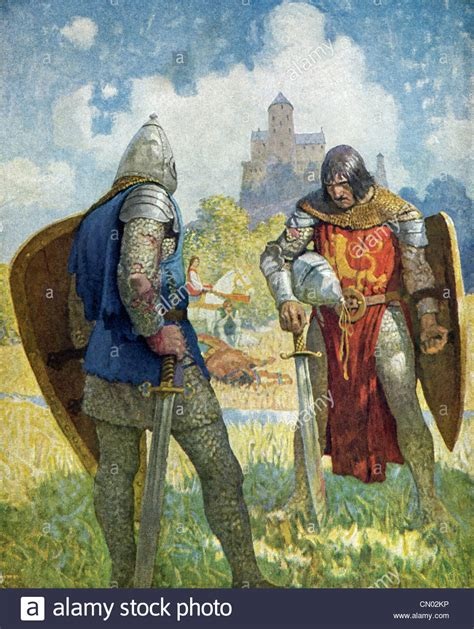 king arthur and the knights of the table arthur and knights of table stock photos arthur