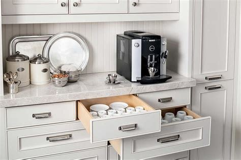 kitchen coffee station cabinet kitchen coffee station design transitional kitchen