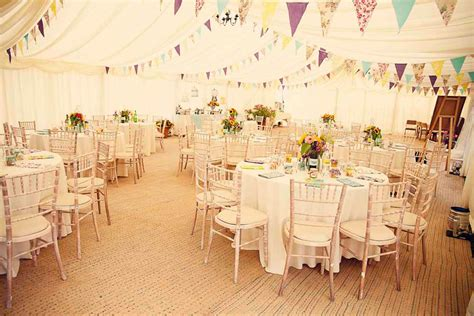 Ideas For Decorating A Marquee For A by A Quintessentially Country Garden Wedding Liz