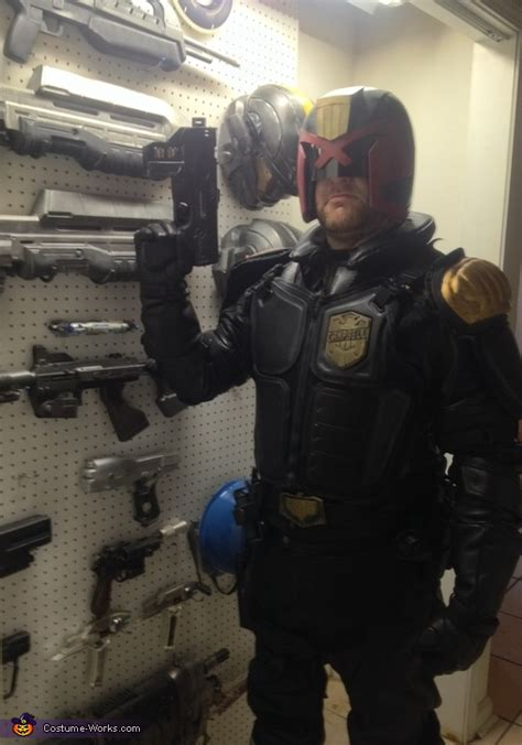 judge dredd adult costume