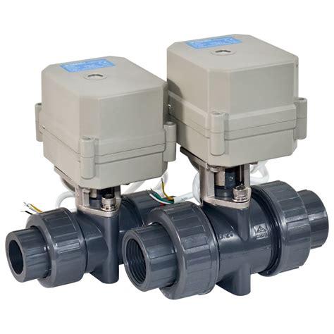 Valve Pvc 4 Drat 2 Pcs electric valve motorized valve flow valve