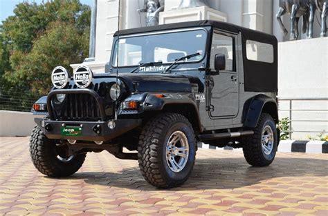 jeep modified 4x4 mahindra thar modified evrythng