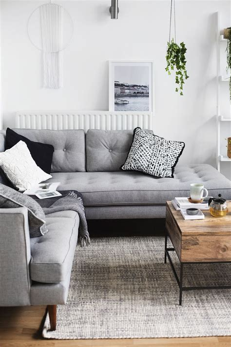 gray sofa decor grey sofa decor best living room decorating ideas grey