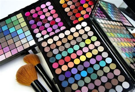 Make Up Palette Sariayu make up palette and brushes stock photo colourbox