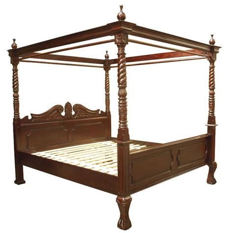 Four Post Bed | queen anne four poster bed akd furniture
