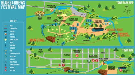festival directions 2015 telluride blues brews festival map