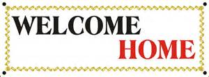welcome home banner vinyl banner store vinyl banners and signs custom