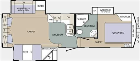 crusader fifth wheel floor plans 2012 prime time crusader 290rlt fifth wheel portland or