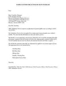 Increase Letter Template Price Increase Letter Format Best Template Collection