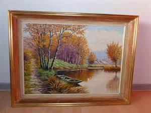 tableau peinture paysage automne design d 233 coration j