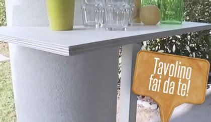 x fare un tavolo tavolino fai da te in legno fare un bar in giardino 232