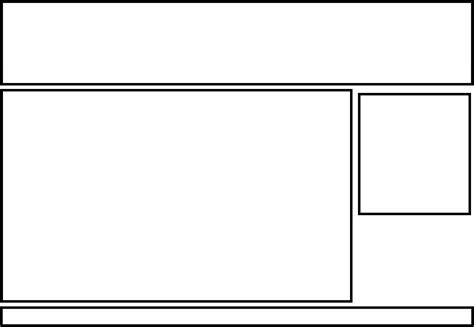 standard layout html css create a basic layout using html css james tombs