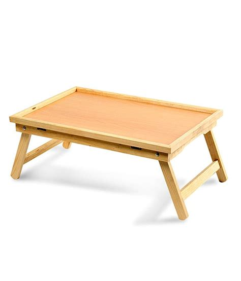 bed table wooden multipurpose folding bed table buy wooden multipurpose folding bed table at best