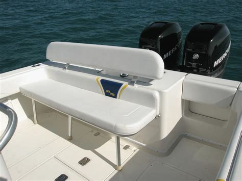 rear bench seat for boat seavee boats