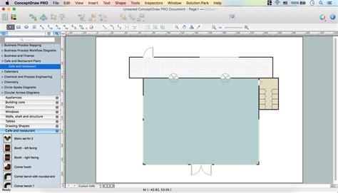 software menu design guidelines caf 233 floor plan design software professional building