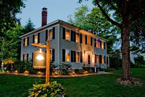 4 Scary Stays In New England For Halloween Cond 233 Nast The House Inn Kennebunkport Maine